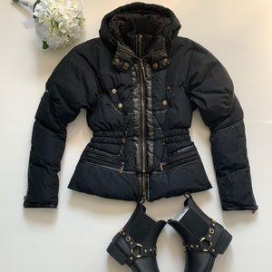 Authentic Roberto Cavalli down jacket size XS-S